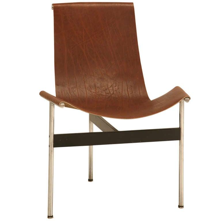 "Original Vintage ""T"" Chair by Katavolos, Kelly & Littell for Laverne International"