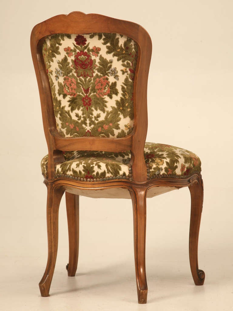 French Louis XV Cherry Dining Chairs C1940 39 S For Sale At