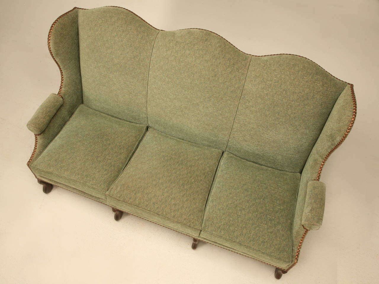 Vintage French Os De Mouton Style Small Sofa or Settee 2