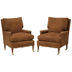 Pair of Bergeres Attributed to Maison Jansen with a Second Pair Available