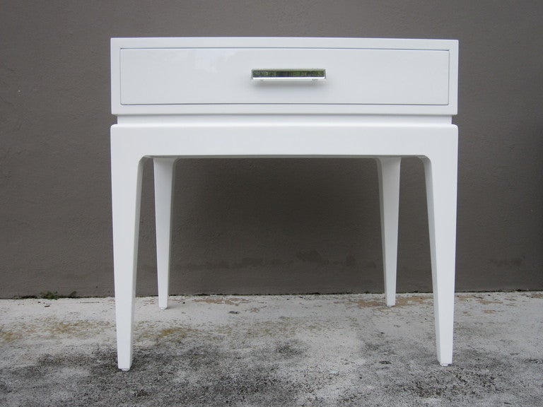 stunning white lacquer nightstand furniture. Stunning White Lacquer Nightstand Furniture Stunning White Lacquer Nightstand Furniture