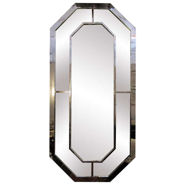 Geometric Retro Chrome Mirror At 1stdibs. Mirror Buffet. Tall Bar Stools. Black Drawer Pulls. Chair Rail Molding. Recreation Room. Wall Tile Patterns. Dining Table Base Only. Standard Tub Dimensions