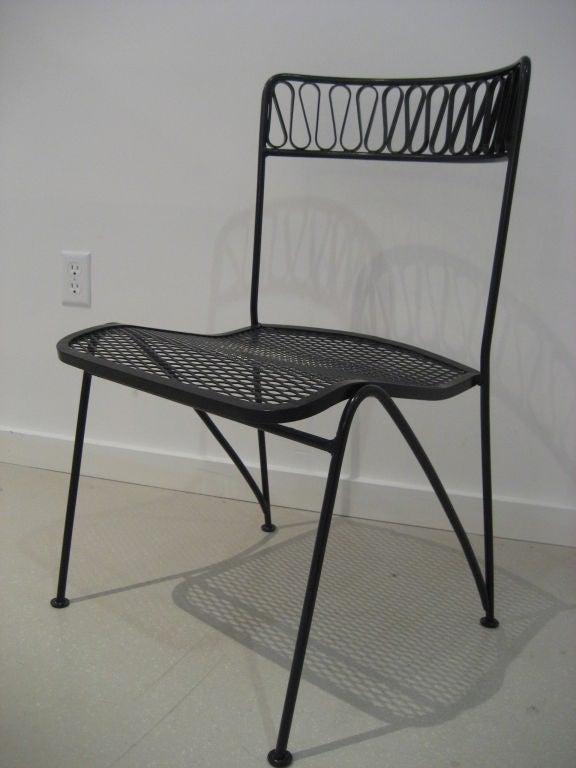 Salterini Patio Furniture Parts: Wrought Iron Patio Set By Salterini At 1stdibs