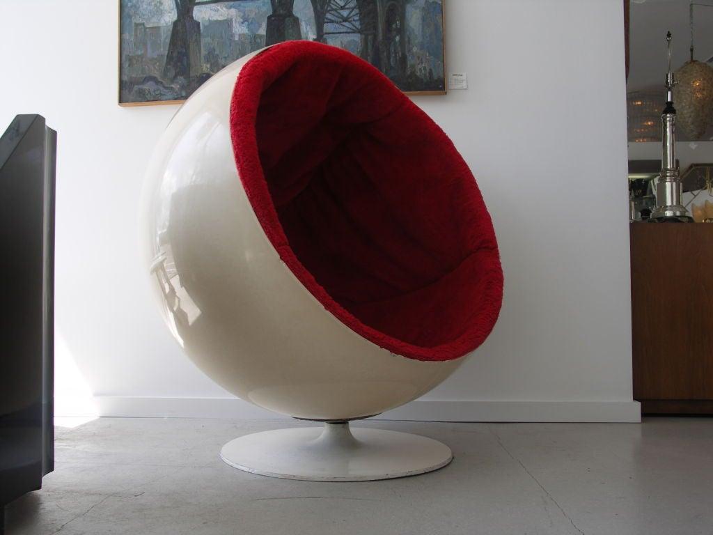Original Vintage Eero Aarnio Ball Chair-- Asko at 1stdibs