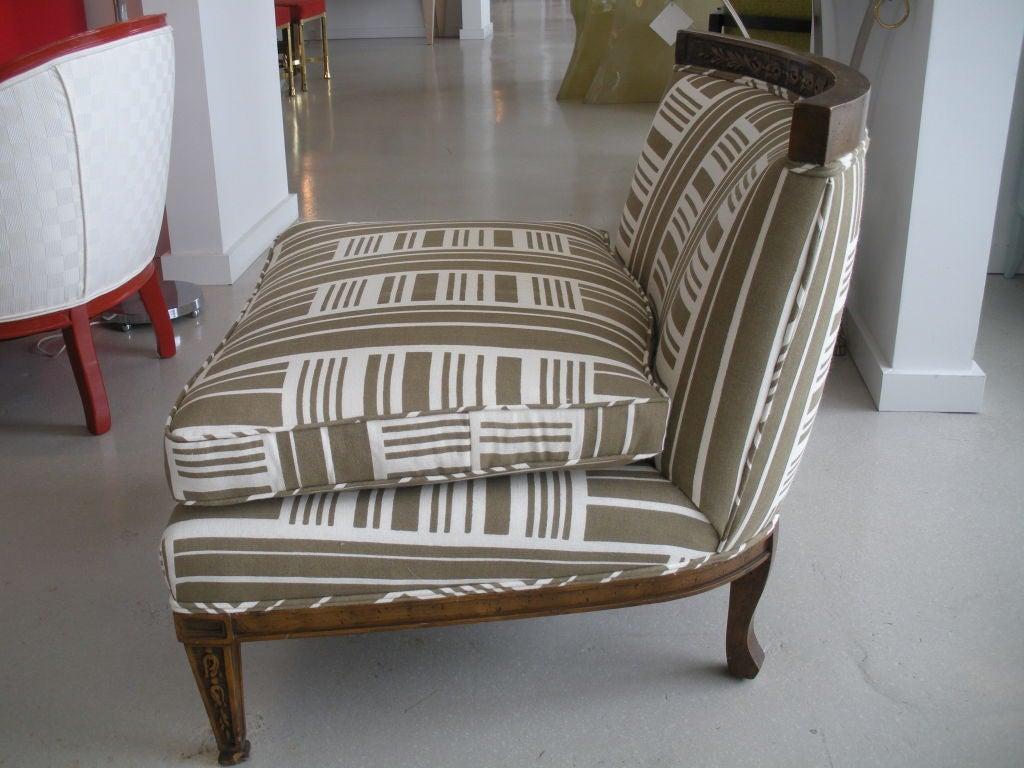 Pair of Vintage Slipper Chairs 10