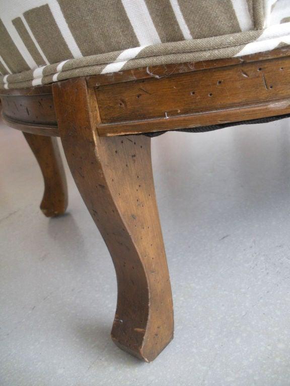 Pair of Vintage Slipper Chairs 7