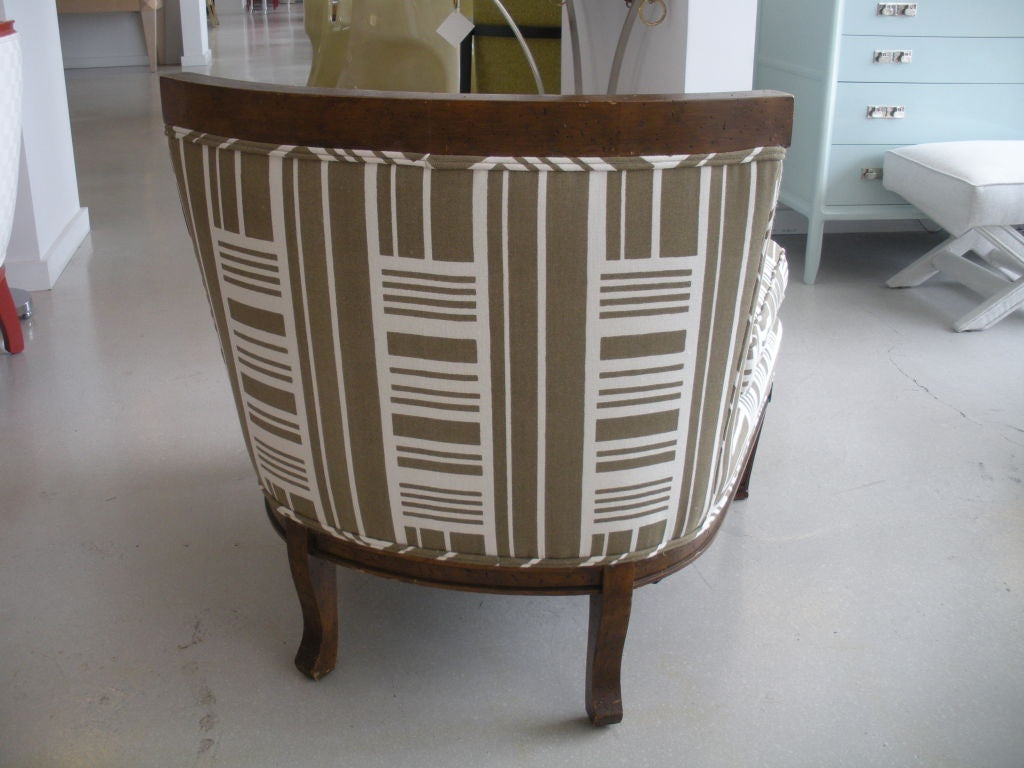 Pair of Vintage Slipper Chairs 8