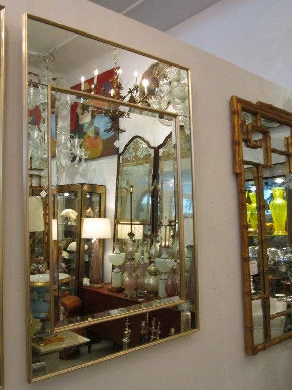 Pair of LaBarge Mirrors 4