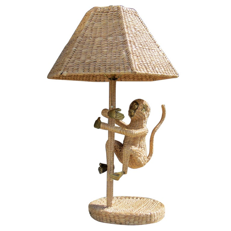 Monkey Lamp by Mario Lopez Torres