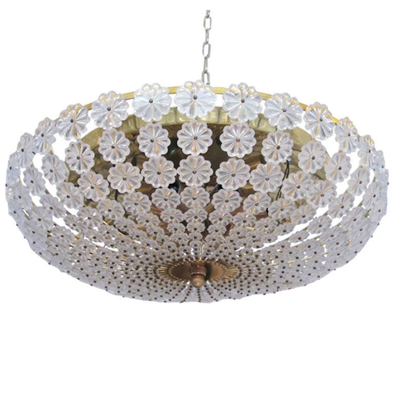 Flower Flush Mount Light Fixture By Palwa At 1stdibs