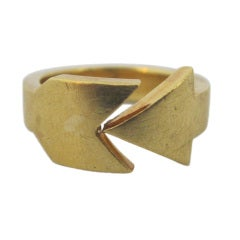 Cartier Vintage 18K Gold Ring