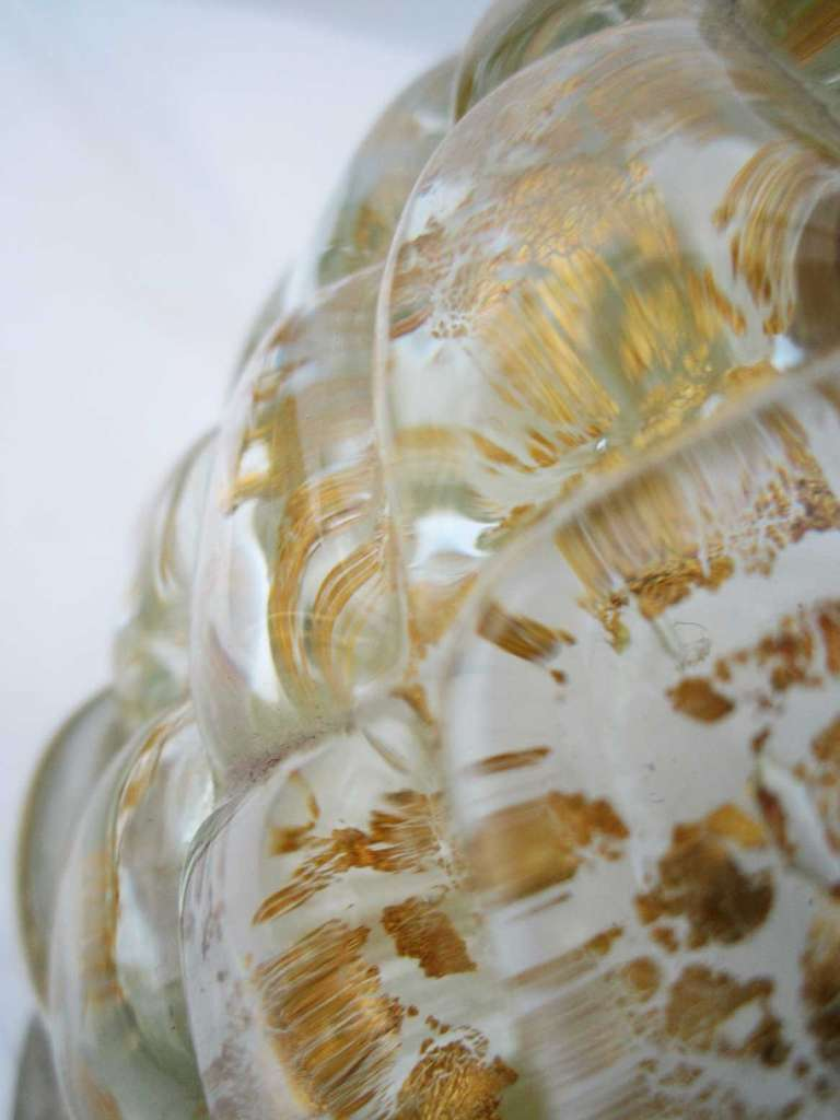 Single  Vintage Murano Glass Lamp by Barovier 7