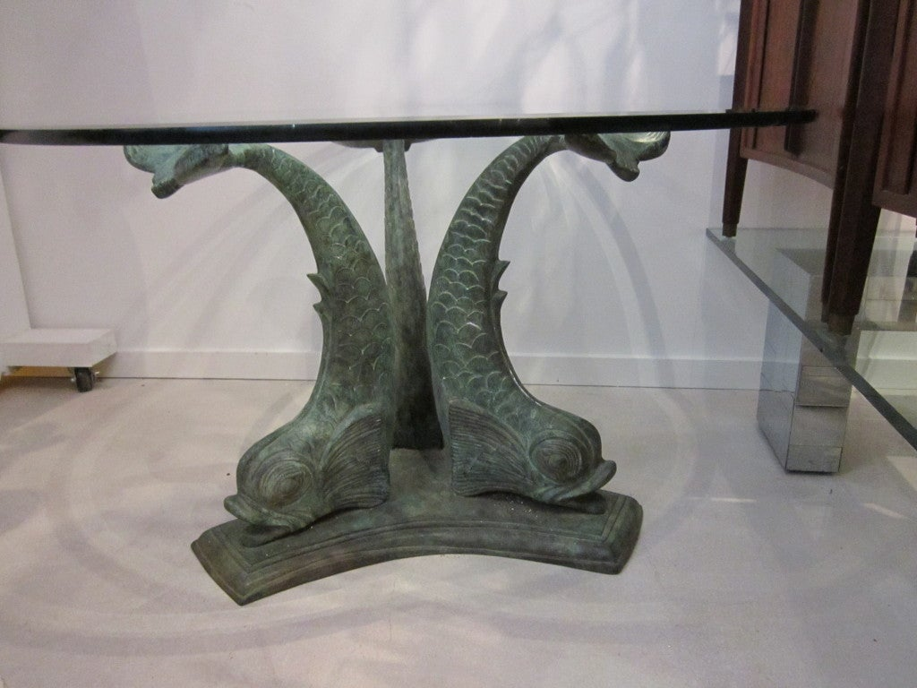 Dolphin Dining Table with Verdigris Patina at 1stdibs : 824613479106712 from www.1stdibs.com size 1024 x 768 jpeg 109kB