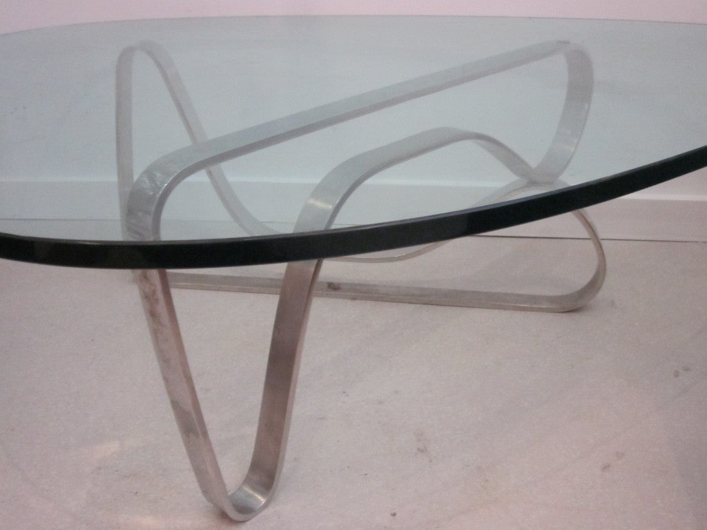 Noguchi Style Coffee Table Ifn Modern Table Steel