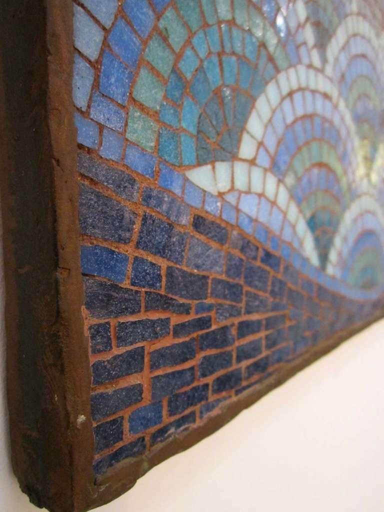 Mid Century Modern Phoenix Mosaic At 1stdibs