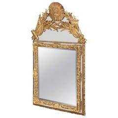 19th Century Louis XIV Style Gilt Mirror
