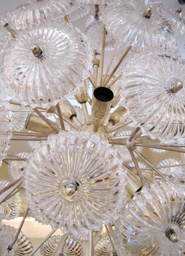 Sputnik Snowball Chandelier 5