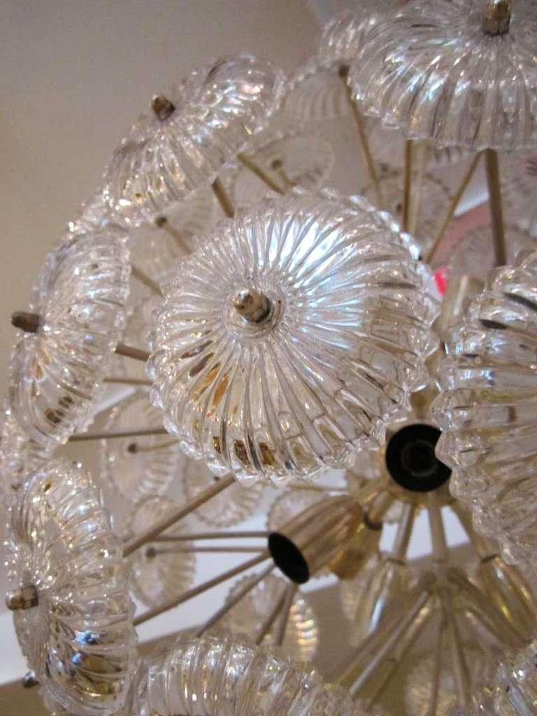 Sputnik Snowball Chandelier 3