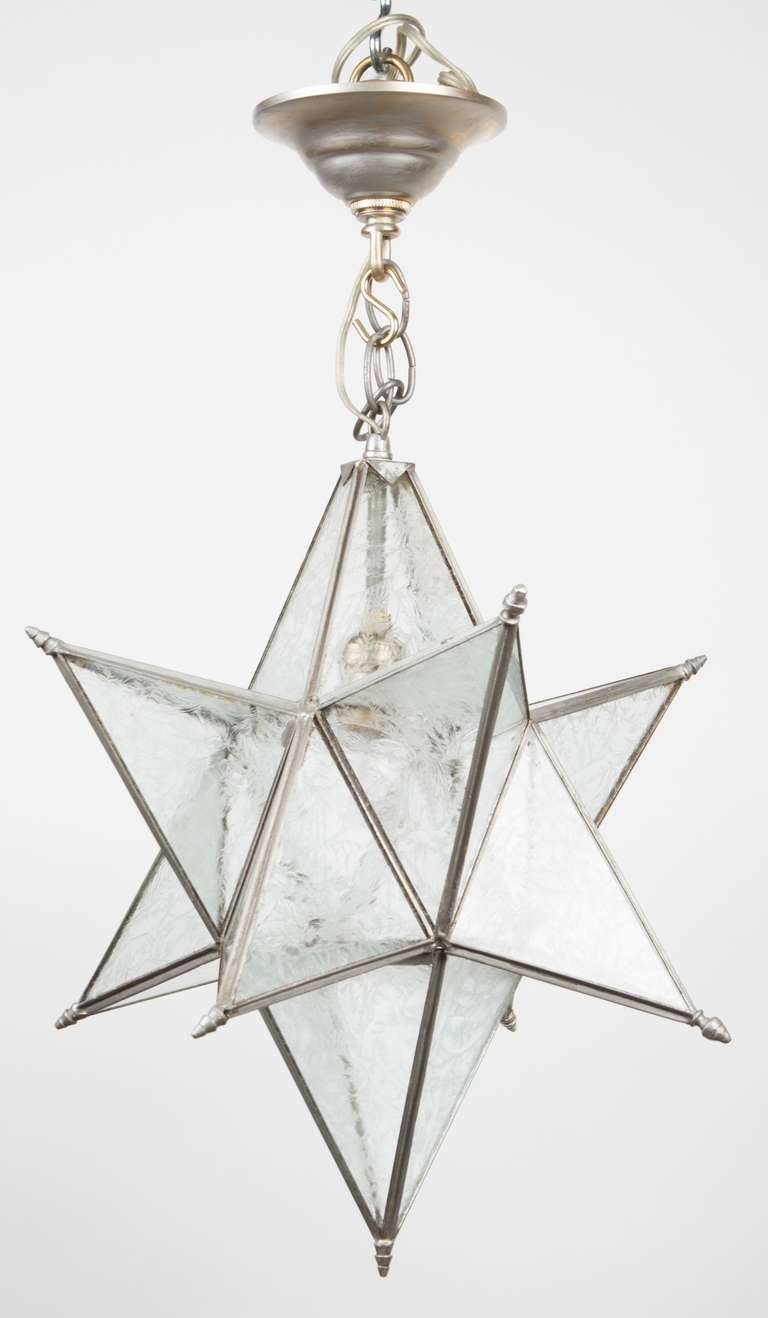 A Star Shaped Ceiling Fixture At 1stdibs