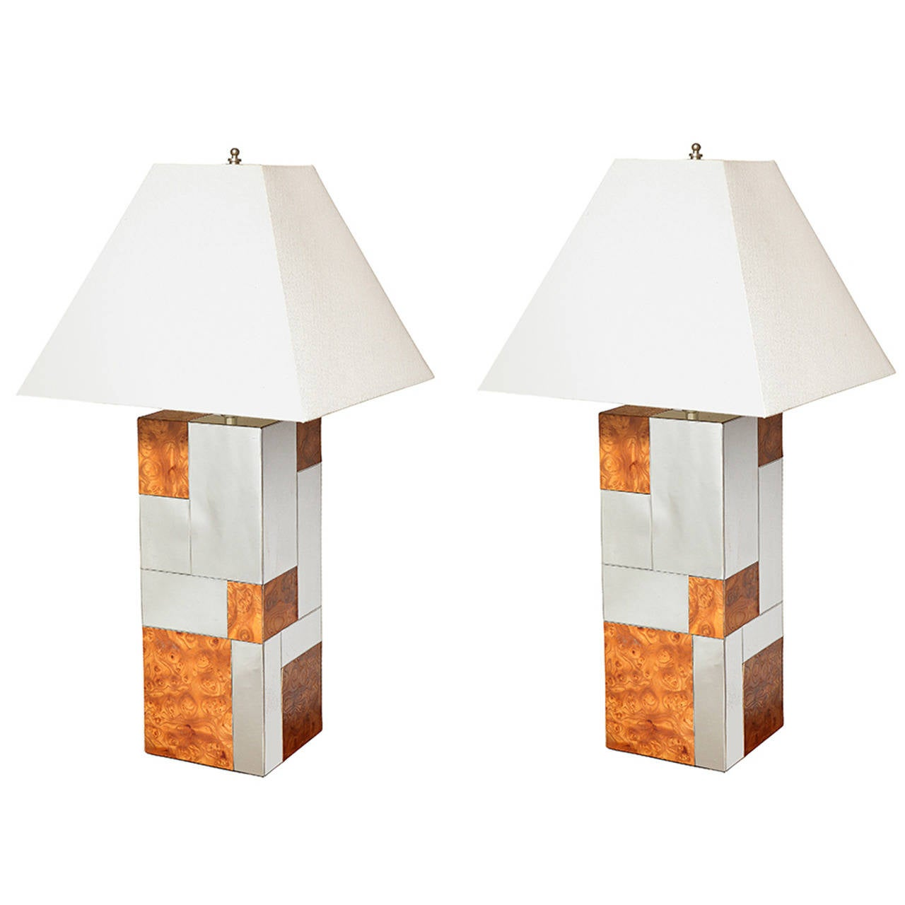 A Pair of Mid-Century Modern Table Lamps by Paul Evans