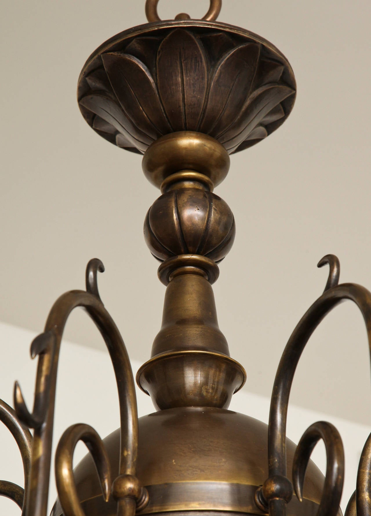 Philipse Two-Tier Sixteen-Light Chandelier For Sale 3