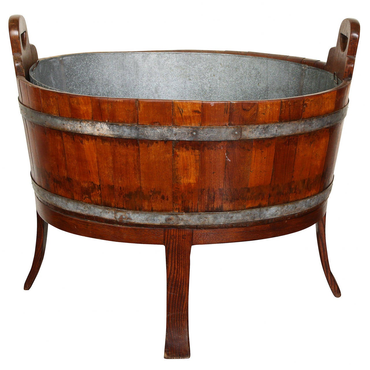 19th Century English Barrel Constructed Wine Cooler For Sale At 1stdibs