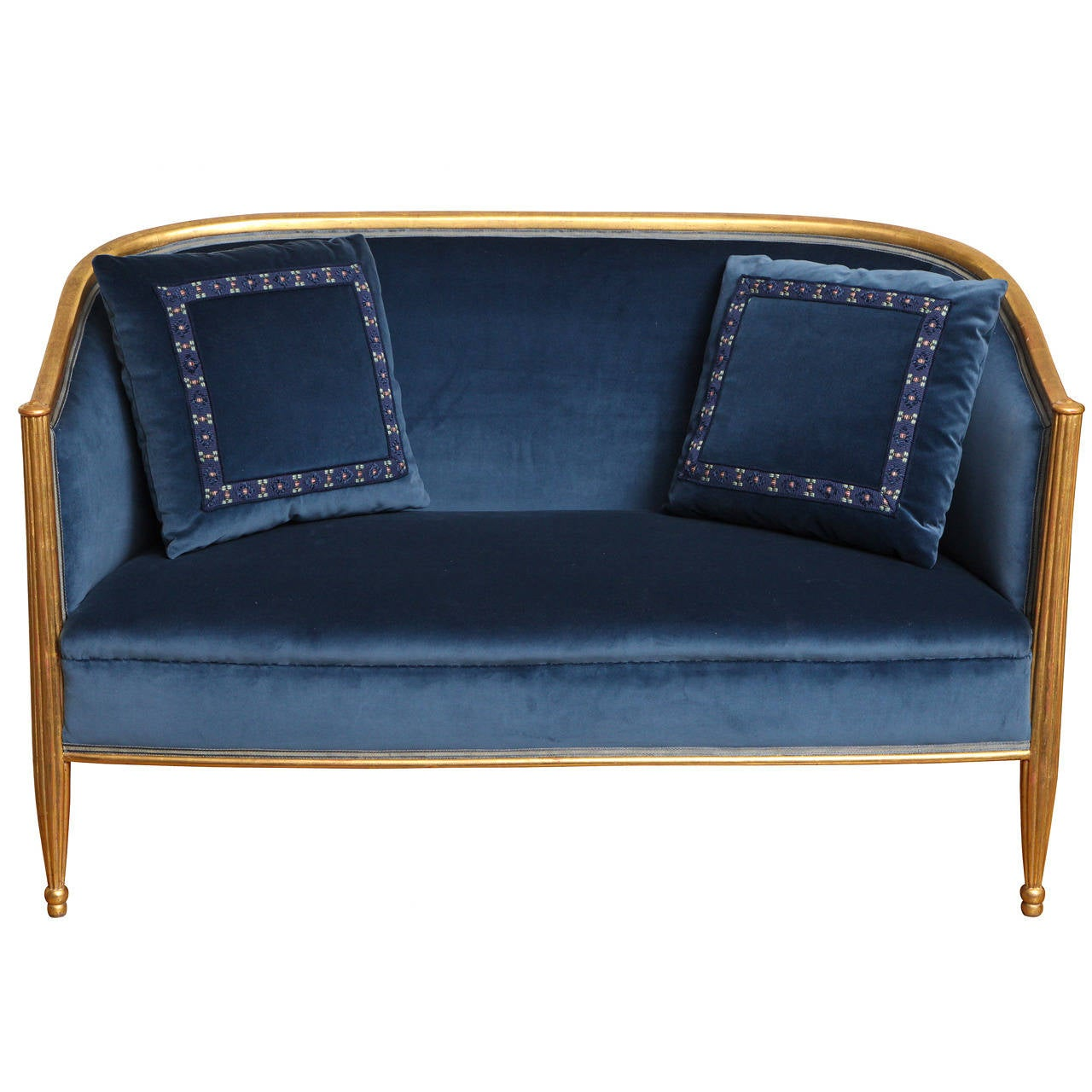 French art deco sofa in the manner of paul follot for sale for French divan chair