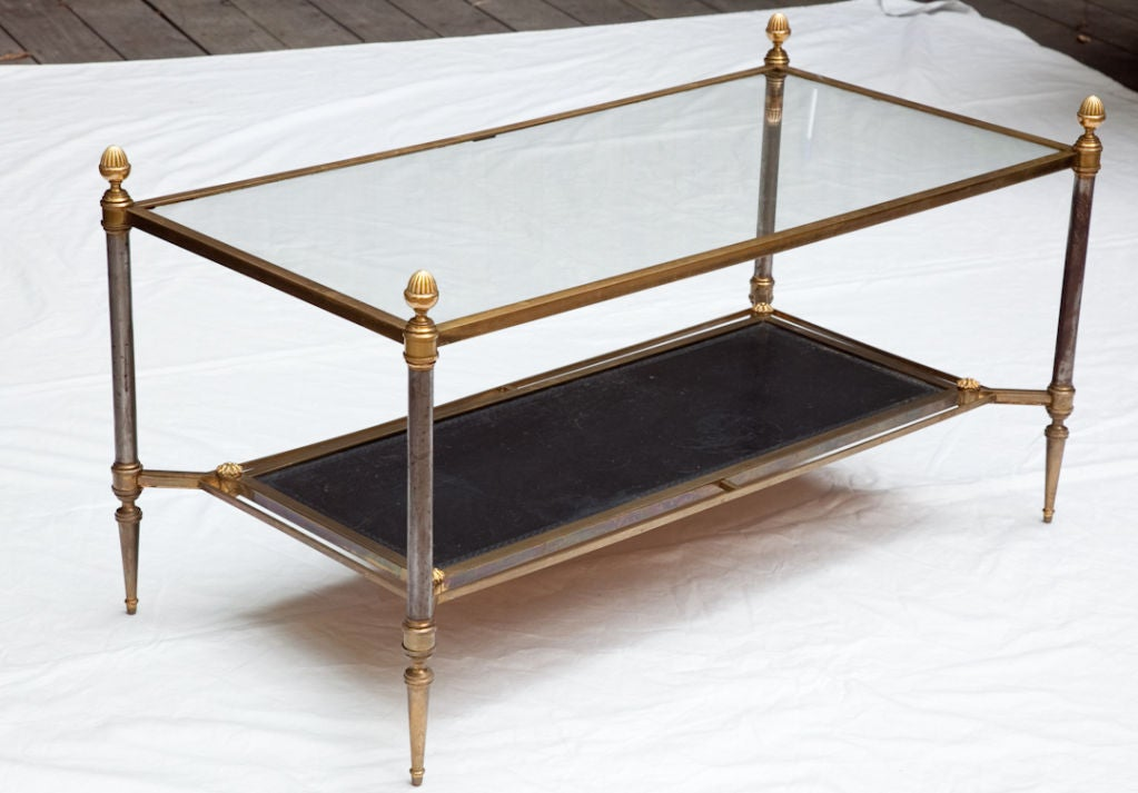 A French Louis Xvi Style Coffee Table At 1stdibs