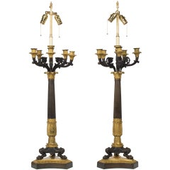 A Pair of Neo Classical Lamps