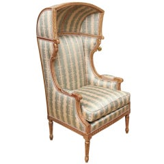A French Louis XVI Style Porter's Chair