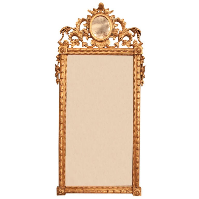 An Italian Neo Classic Design Looking Glass At 1stdibs