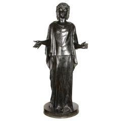 "An Italian ""Grand-Tour"" Cast Bronze Classical Figure"