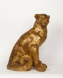 An Italian Gilt Metal Panther image 2