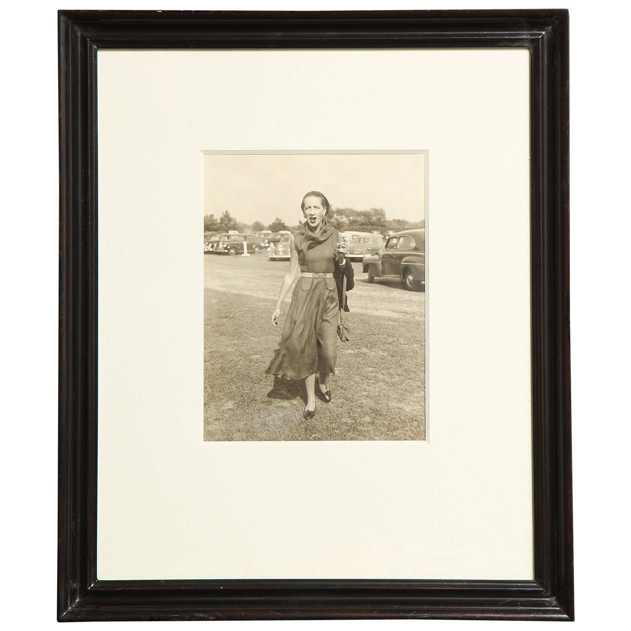 Framed Photograph of Diana Vreeland