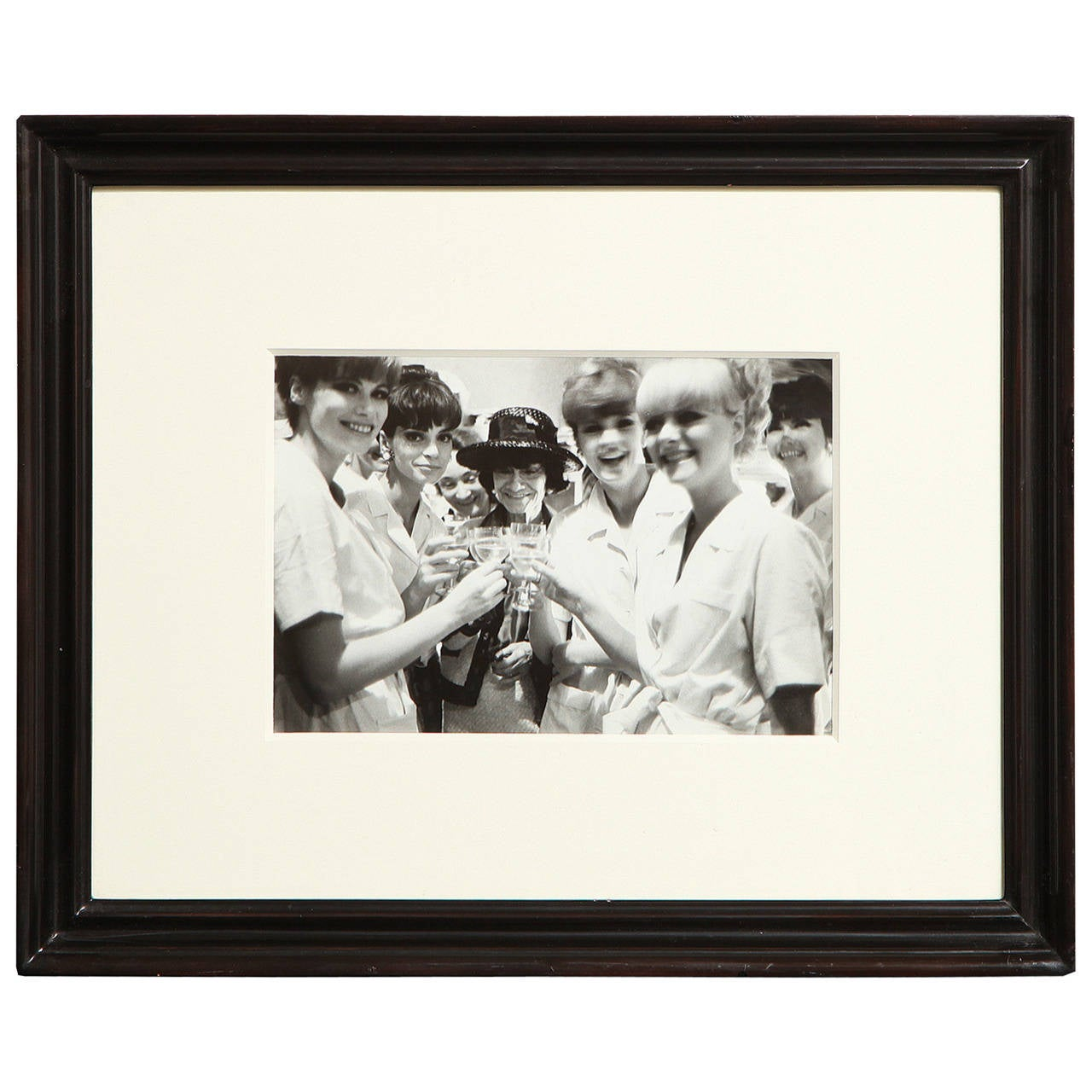 A Framed Photograph of Chanel