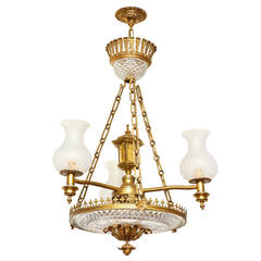 English Late Regency Colza Ceiling Fixture