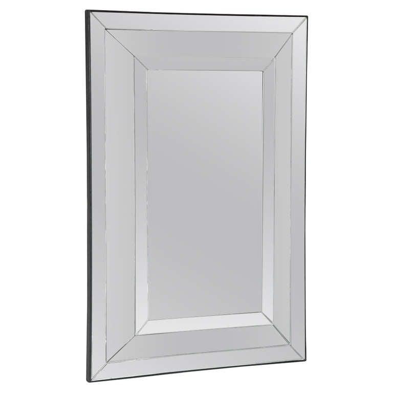 A Contemporary Design Mirror For Sale