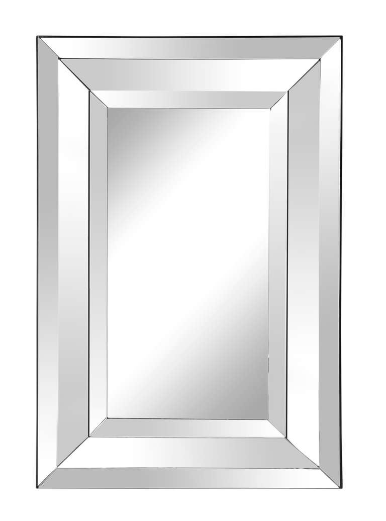 A Contemporary Design Mirror In Excellent Condition For Sale In New York, NY