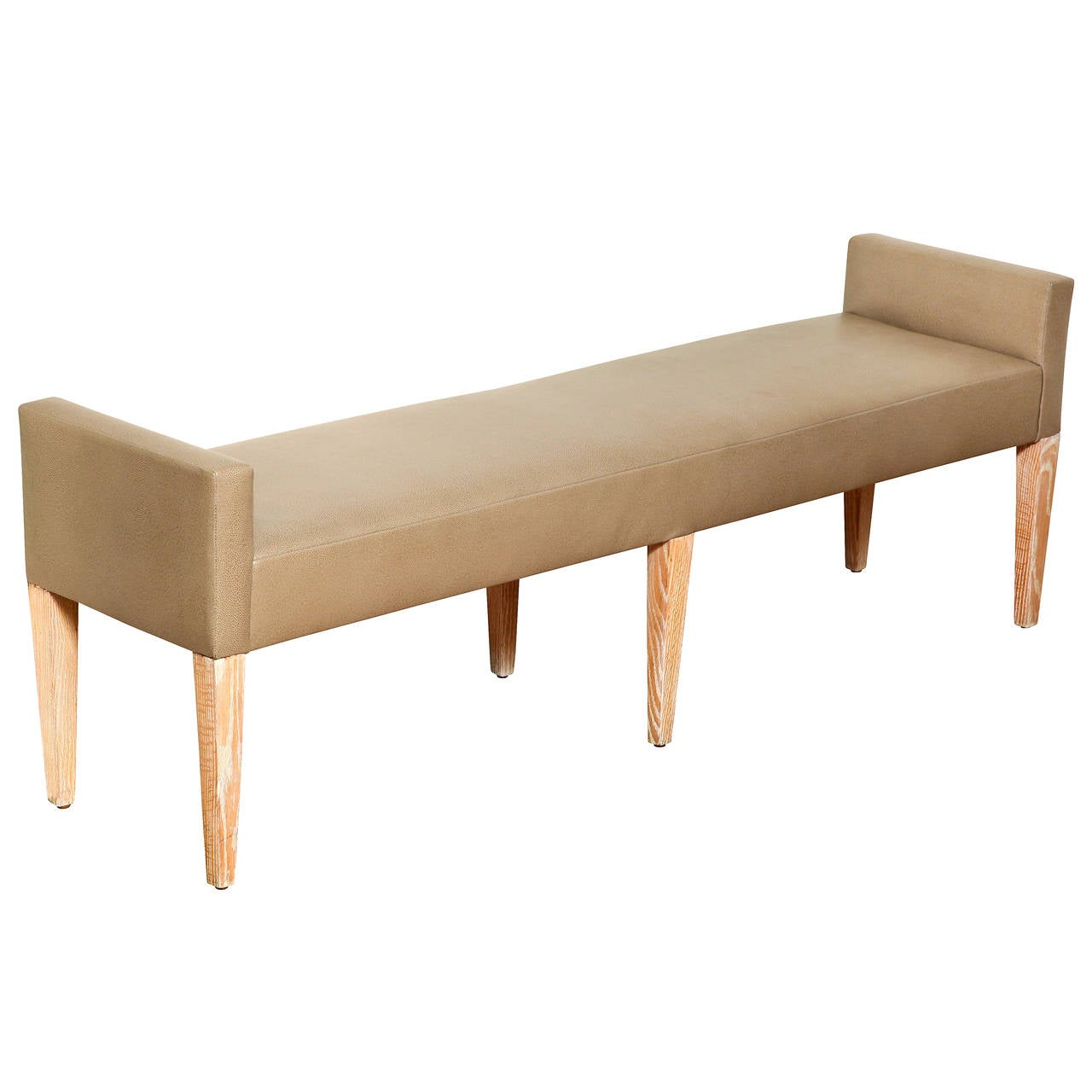 American Mid Century Narrow Bench For Sale At 1stdibs