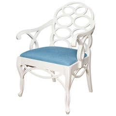 Frances Elkins-Designed Loop Armchair