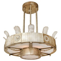 Two-Tiered Eltham Pendant Fixture by David Duncan