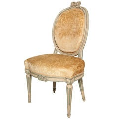 A Louis XVI Style Beechwood Chair
