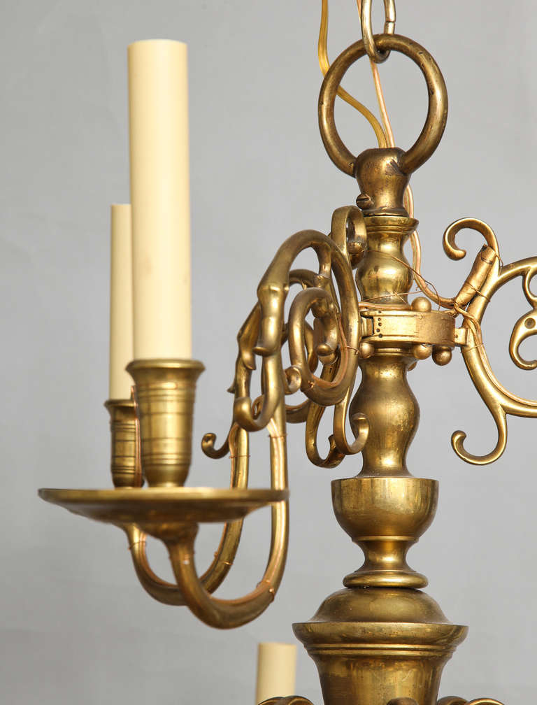 Dutch baroque style chandelier at 1stdibs for Dutch baroque architecture