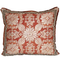 Fortuny Fabric Cushion in the Impero Pattern