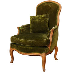 A French Louis XV Style Bergere