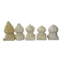 White Marble Carpet Weights