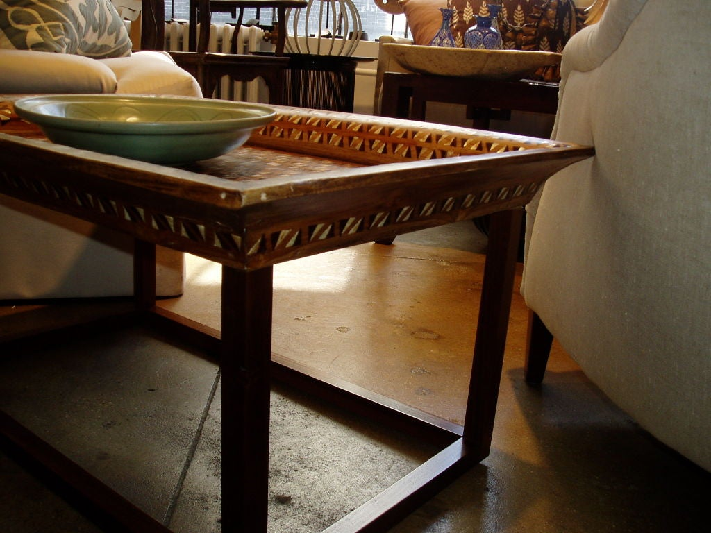 Inlaid Tray Coffee Table At 1stdibs