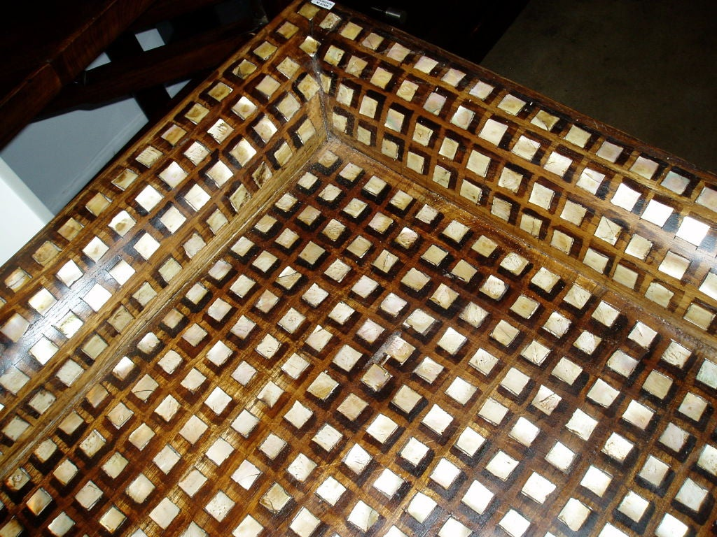 Indonesian Mother-of-Pearl Inlaid Trays