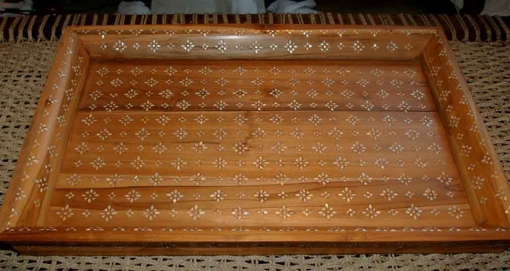 Mother-of-Pearl Inlaid Trays 5