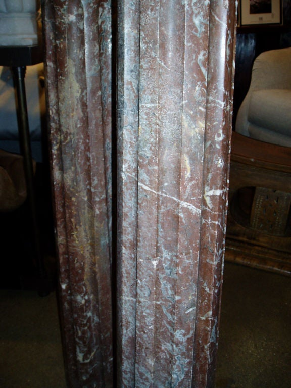 Marble Column In Good Condition For Sale In New York, NY